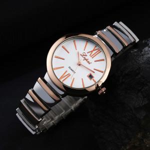Солидные женские часы «Lupai» с красивым браслетом и функцией отображения даты фото. Купить